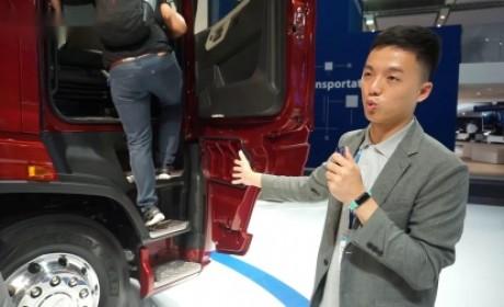 做工不如国产?驾驶室最大的平头卡车,2019年度卡车福特F-MAX详解
