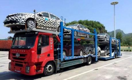 国内底盘最低的卡车?红岩中置轴轿运车详解