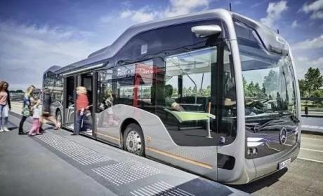车内有公园?奔驰全新发布的未来公交车详解