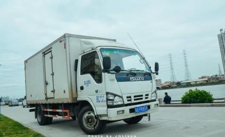 这才是轻型货车 五十铃600P轻型货车实拍