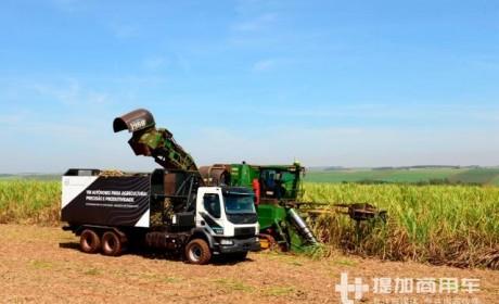 厉害了,不愧是沃尔沃卡车,收割甘蔗都能玩出黑科技