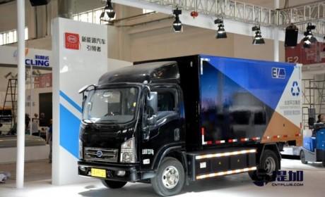 能弯道超车吗?实拍比亚迪最新款纯电动轻型卡车