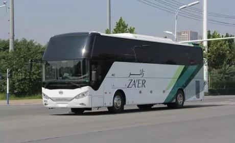 已交付3800辆 安凯51辆A8客车再次出口沙特阿拉伯