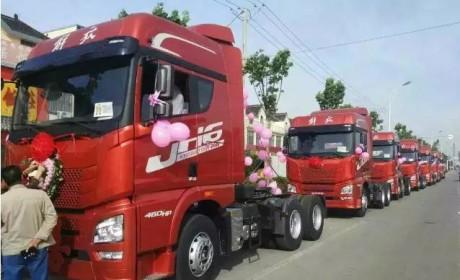 卡车司机也很浪漫 细数近几年那些卡车婚礼