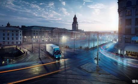 总重16吨,最大续航300公里,沃尔沃卡车首款纯电动卡车亮相