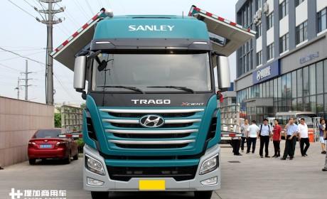 国内也有卡车改装文化?带您见识一款改装很不错的现代创虎卡车