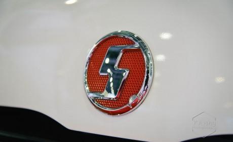 挂陕汽标的面包车,还叫电牛,陕西通家第三代纯电物流车实拍
