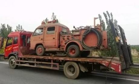 实用无国界 品质给力的日本五十铃消防卡车实拍