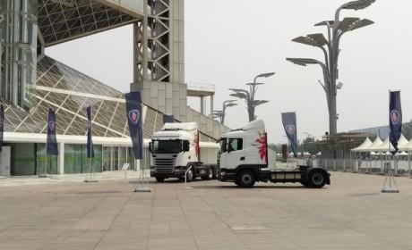 标配缓速器,可智能驾驶,斯堪尼亚最新款卡车登录中国