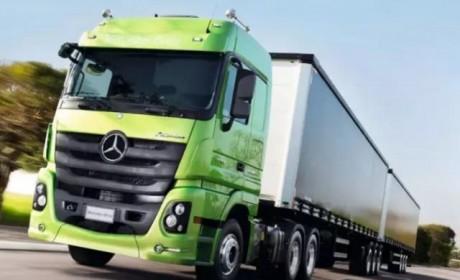 两节货箱回归?奔驰卡车双挂车型即将来到国内