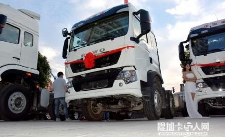 要成为中卡市场的明星车型?重汽T5G载货车底盘图解
