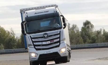 终于可以上路了 欧曼EST超级卡车三月份正式上市