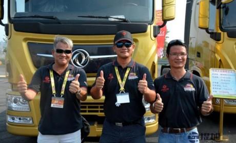 不是猛龙不过江? 香港选手首发国内卡车驾驶员大赛