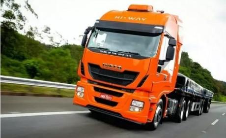 您的卡车有这个吗?依维柯进口卡车胎压检测系统详解