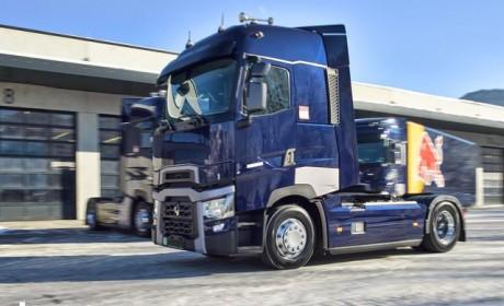 卡车也玩F1? 红牛车队再次购入3辆520马力雷诺卡车