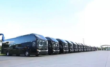 沙特富豪最爱的中国客车品牌?200辆金龙高端客车即将发向沙特