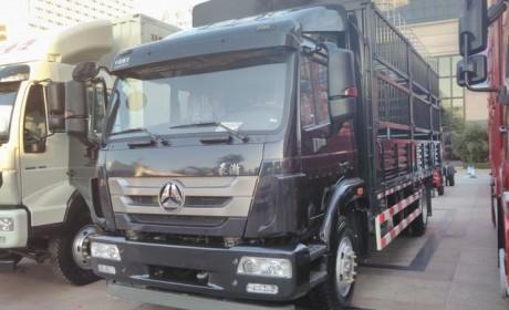 最大的纯电动卡车?中国重汽竟有一款4X2纯电动牵引车