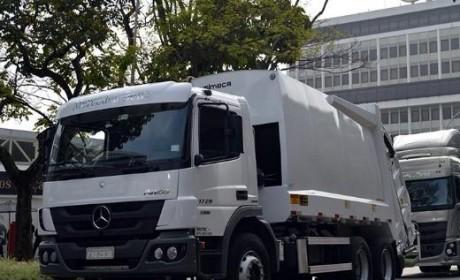 联合艾里逊 奔驰卡车在巴西推新款Atego车型