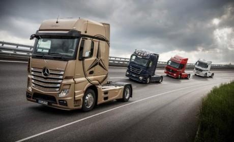 配有健身系统 奔驰Actros 20周年纪念卡车即将亮相