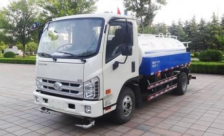 仅4方容量 福田时代新款国五洒水车正式亮相
