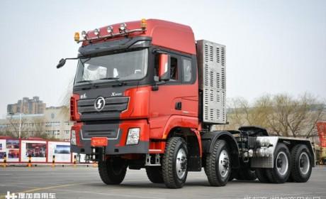 600马力能拉250吨,国产最强8x8,陕汽德龙X3000大件牵引车详解