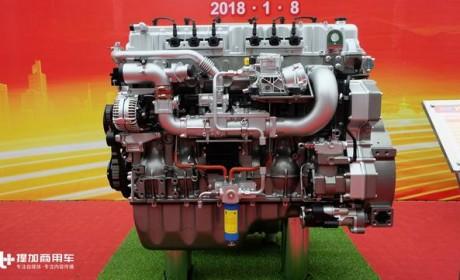 680马力,国产重卡最大马力被刷新,重汽15升排量V8发动机曝光