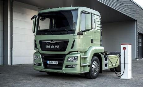 国外也搞电动卡车?曼恩电动卡车eTruck有望年底上路测试