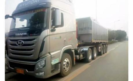 牵引车当自卸车用?四川现代创虎推出了一款重载两用卡车