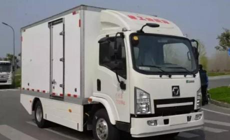 获得新能源汽车生产资质,徐工新能源厢式货车亮相