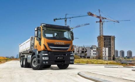 8x4底盘自重9吨业内最轻,依维柯发布全新X-WAY工程车