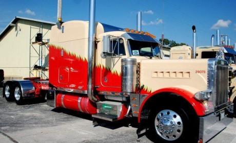 """卡车将能利用太阳能充电  详解美国的""""超级卡车""""计划"""