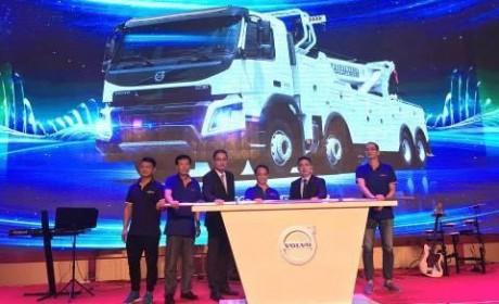 玩转细分市场 沃尔沃新款FMX清障卡车正式上市