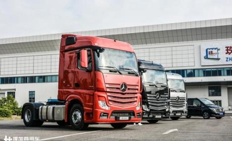 国产卡车模仿进口卡车,为啥总是差了大半截?奔驰新Actros告诉您