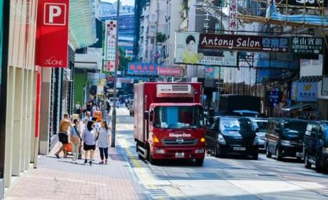 国内卡车爱好者必去?香港街头各类卡车实拍