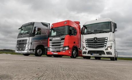 奔驰、沃尔沃、斯堪尼亚谁才是欧洲最强卡车?斯堪尼亚略胜一筹!