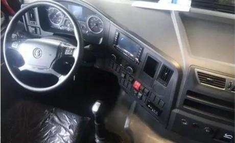 替代F3000 陕汽最新的德龙X3000自卸车详解
