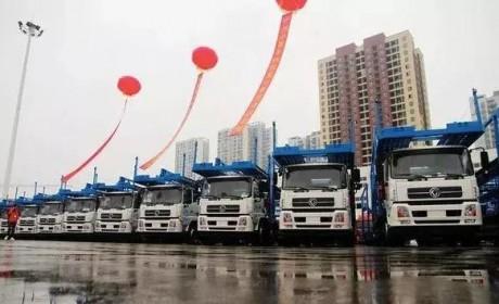 7月1日禁止飞机板轿运车上路,国内已开始中置轴轿运卡车置换潮?