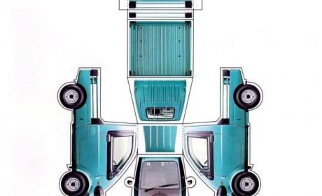 载重仅300斤,但配置豪华还中置后驱,单排单座的货车您见过吗?
