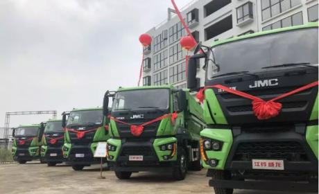 江铃重汽首款工程类车型来袭,江铃威龙自卸车正式上市