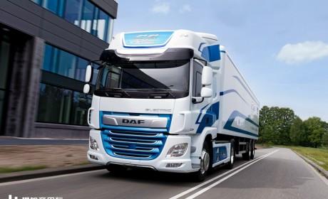 【IAA2018】2500㎡展台,达夫卡车带11辆卡车参加汉诺威商用车展