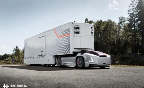 未来卡车将变身超跑?看沃尔沃卡车最新推出的物流解决方案