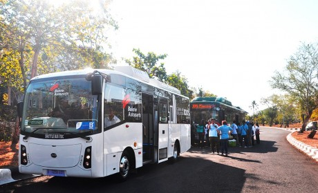 巴厘岛省政府点赞,比亚迪纯电动巴士服务IMF和世界银行年会