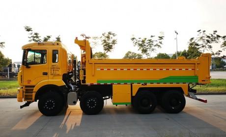 城市建设的新宠,格尔发智能盾构渣土车开启智能渣运