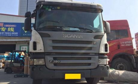 10年运营超240万公里,发动机性能依然如初,还是手动挡的斯堪尼亚卡车实拍