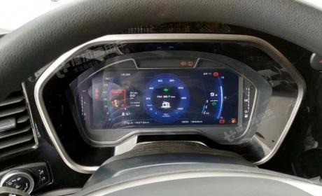 平地板、全液晶仪表最抢眼,即将上市的江铃威龙HV5实车内饰首曝光