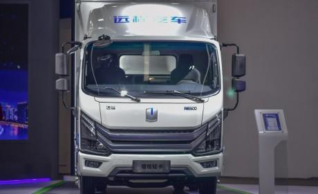 E路远航  程就不凡 吉利商用车远程汽车增程式轻卡RE500广州车展正式上市