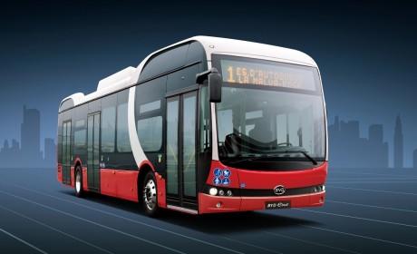 欧洲市场版图再扩张!比亚迪打造丹麦最大纯电动大巴车队