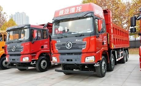 目前最大马力的国产公路自卸车,550马力的德龙X3000自卸车实拍