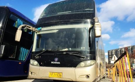 行驶里程超310万公里,国内仅有一辆,已退役的斯堪尼亚双层豪华客车实拍