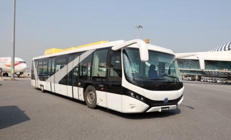 助力航空业零排放,比亚迪获深圳机场首批纯电动摆渡车订单